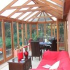 The inside of one of our sheffield conservatories