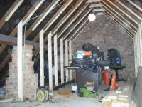 Loft Conversion in Sheffield - before photo