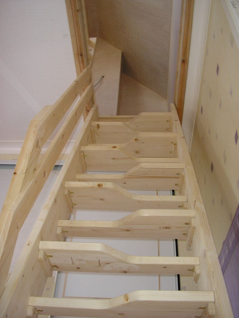 attic stair design ideas - Latest Projects H Register and Son